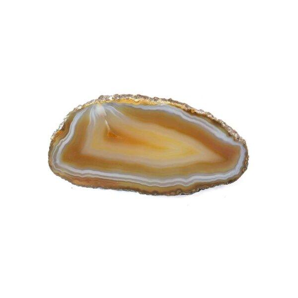 Achatscheibe Natur 4-6 cm
