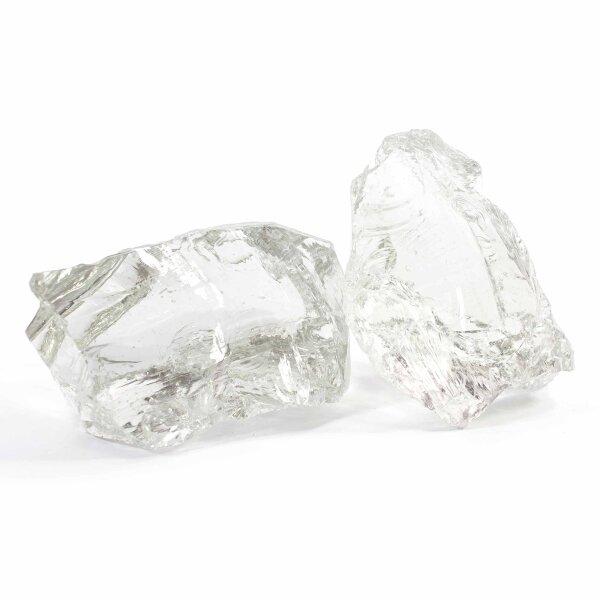 Glasbrocken Glasklar 10kg (60-120mm)