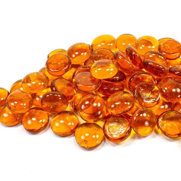 Glasnuggets Crystal Orange 100g (17-20mm)