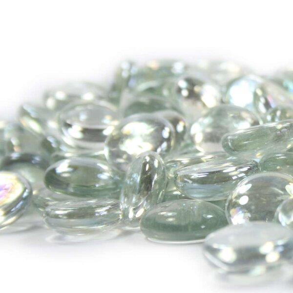 Glasnuggets Crystal Glasklar 1kg (17-20mm)