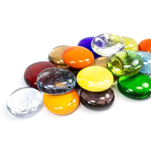 Glasnuggets Farbmix 200g (30-35mm)