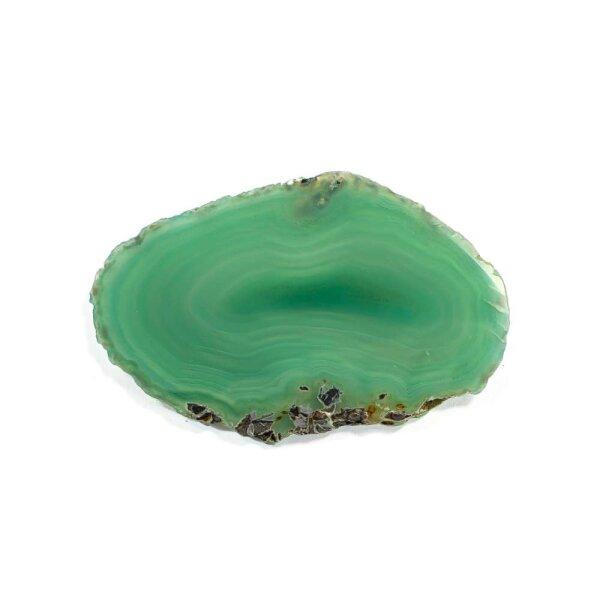 Achatscheibe Grün 6-8 cm
