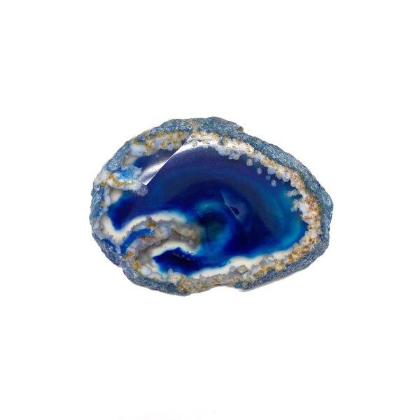 Achatscheibe Blau 2-4 cm