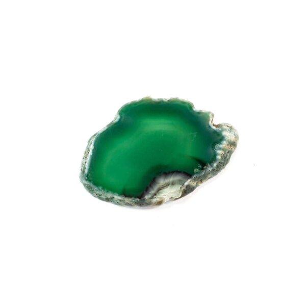 Achatscheibe Grün 2-4 cm