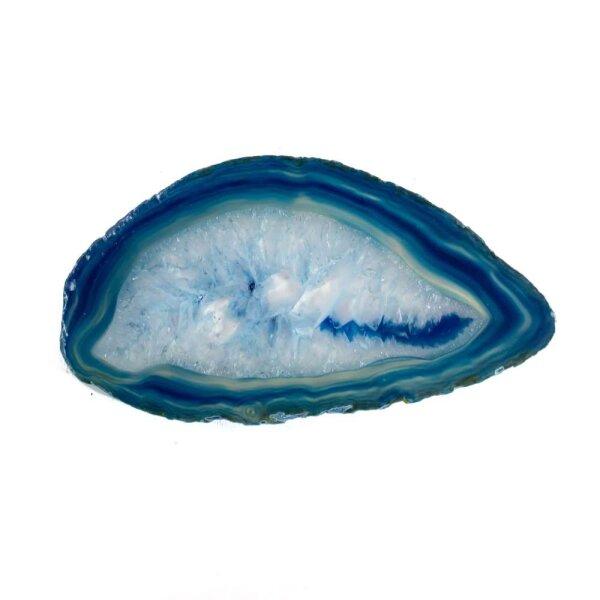 Achatscheibe Blau 8-10 cm