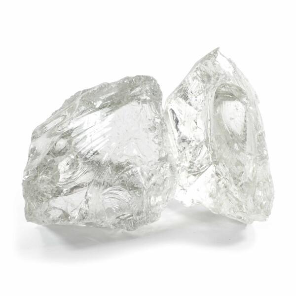 Glasbrocken Glasklar 20kg (120-200mm)