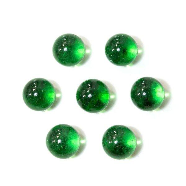 Glasmurmeln Crystal Grün 100g (16mm)