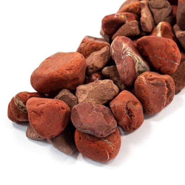 Wassersteine Jaspis Rot 100g
