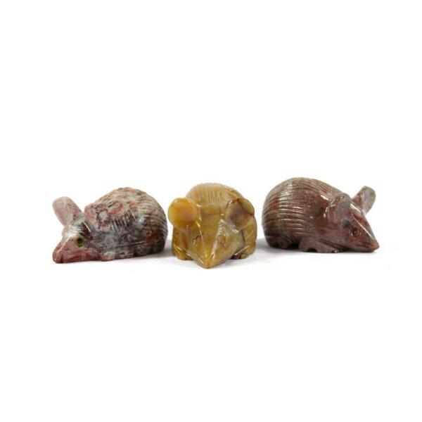 Steinfigur Maus