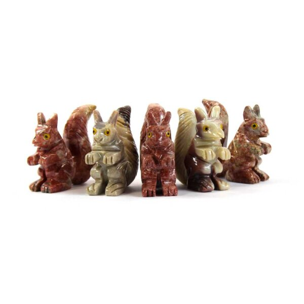 Steinfigur Eichhörnchen