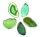 Achatscheibe Grün 10-12 cm