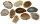 Achatscheibe Natur 10-12 cm gebohrt