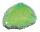 10 Achatscheiben Grün 2-4 cm gebohrt