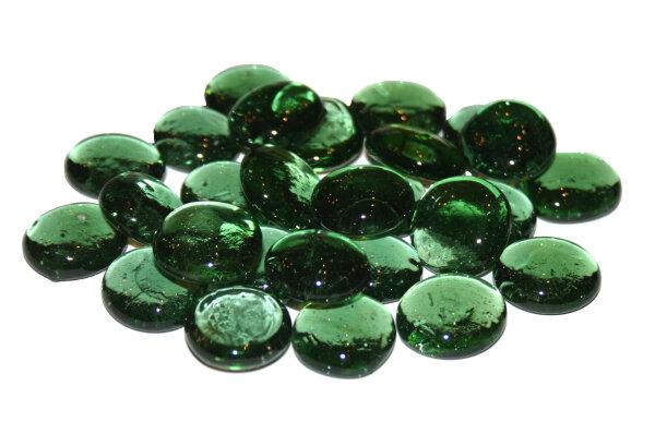 1kg Glasnuggets 20-30 mm Olivgrün II. Wahl