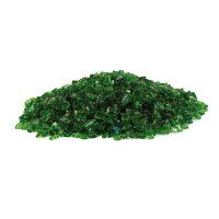 Glassplitt Dekosplitt Grün 1kg (4-10mm)