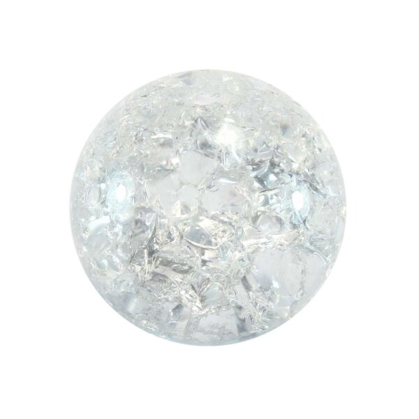 Glaskugel Effektsplitt Glasklar (35mm)