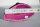 Pink Achat Geode Single 212g