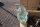 Glasbrocken Single Glasklar grünlich 11,24 kg