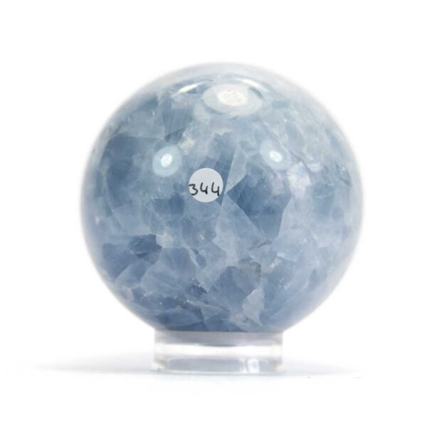 Calcit Blau Kugel 68 mm