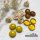 Glasnuggets Crystal Gelb Orange 100g (17-20mm)