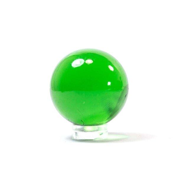Glaskugel Crystal Grün (35mm)