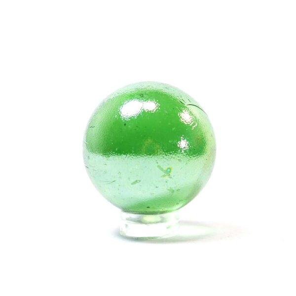 Glaskugel Shine Grün irisierend (35mm)