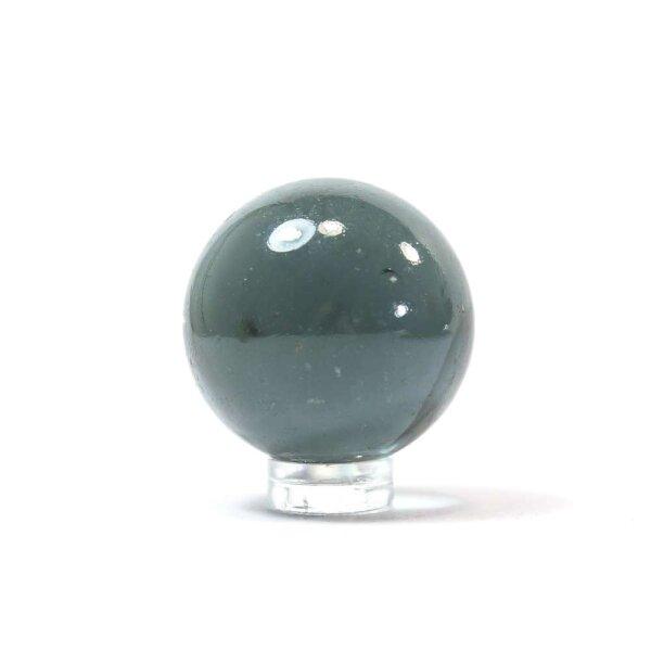 Glaskugel Shine Grau irisierend (35mm)