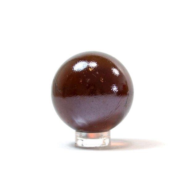 Glaskugel Shine Braun irisierend (35mm)