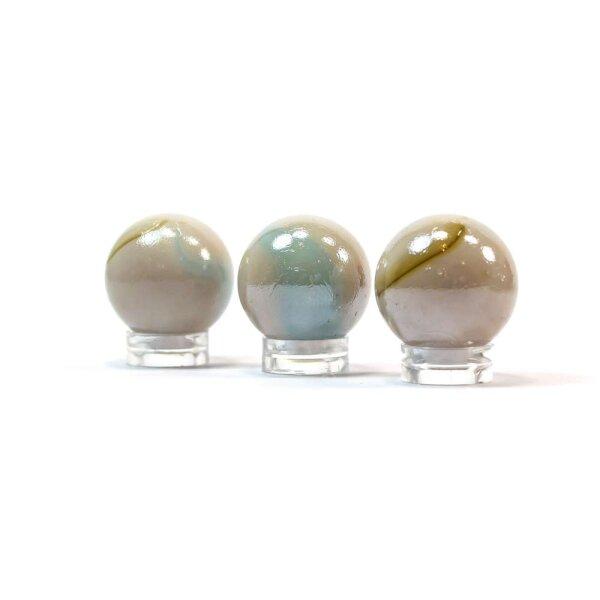 Glaskugel Opak Sand marmoriert (25mm)