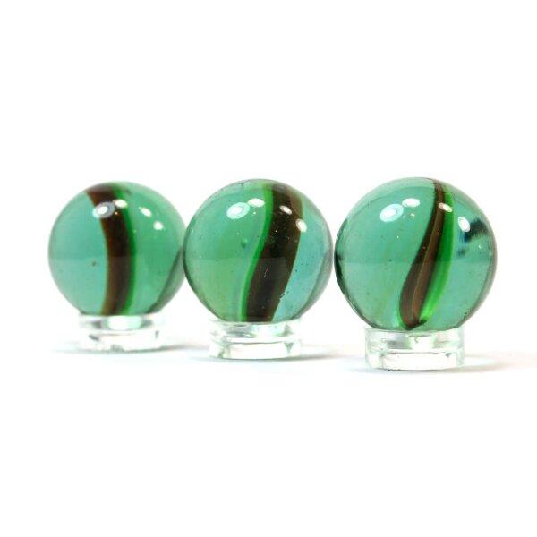 Glaskugel Crystal Katzenauge Türkis (25mm)