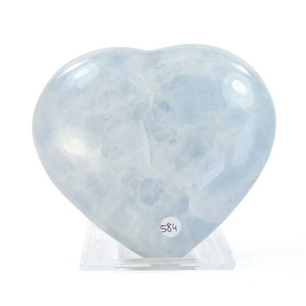 Calcit Blau Herz 505g
