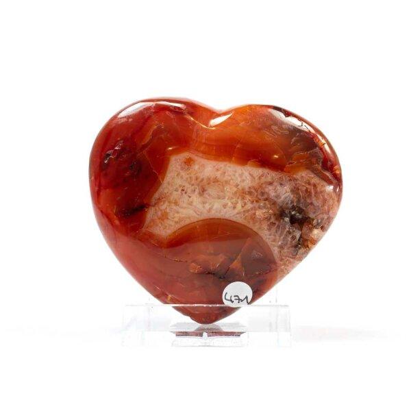 Karneol Herz 118g