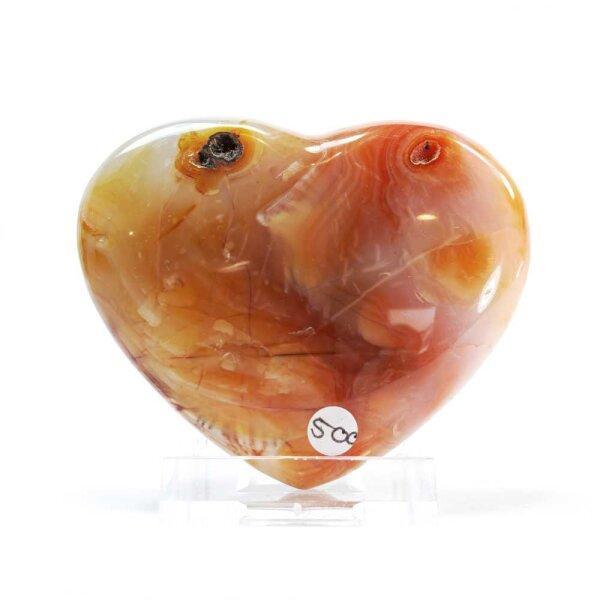 Karneol Herz 129g