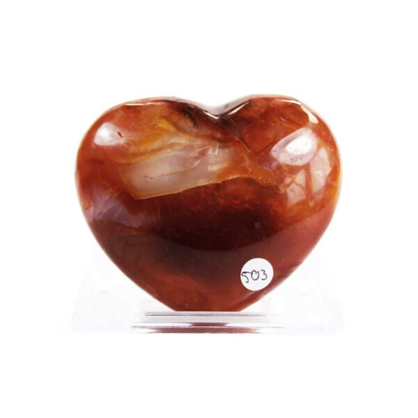Karneol Herz 108g
