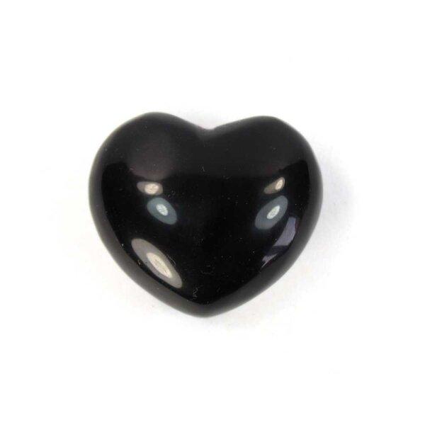 Achat schwarz Herz 54g