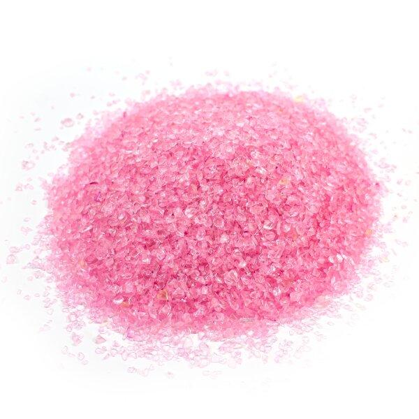 Deco Glasgranulat Pink 1 - 2mm II.Wahl
