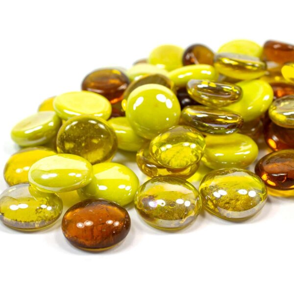 Glasnuggets Farbmix Yellow 100g (17-20mm)