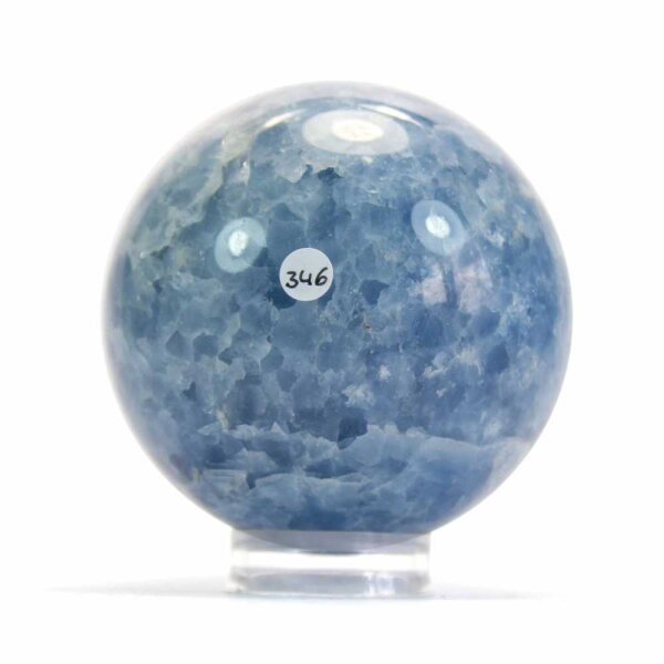 Calcit Blau Kugel 72 mm