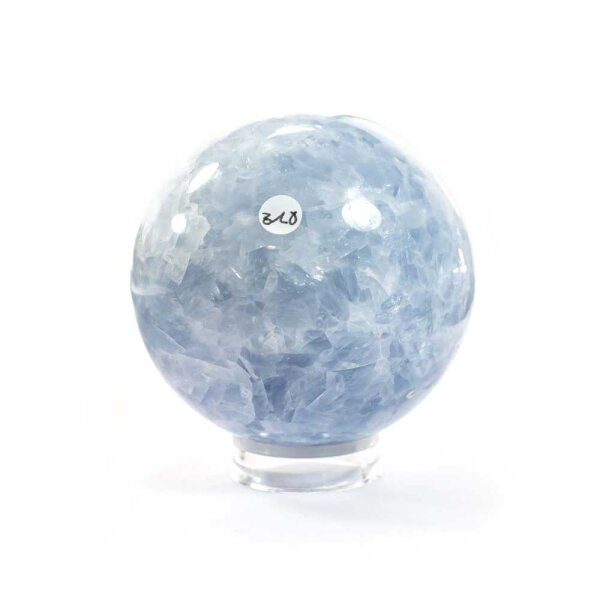 Calcit Blau Kugel 71 mm