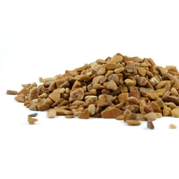 Jaspis gelb Trommelstein Chips 4-12mm 100g