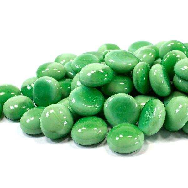Glasnuggets Opak Mintgrün 1kg (17-20mm)