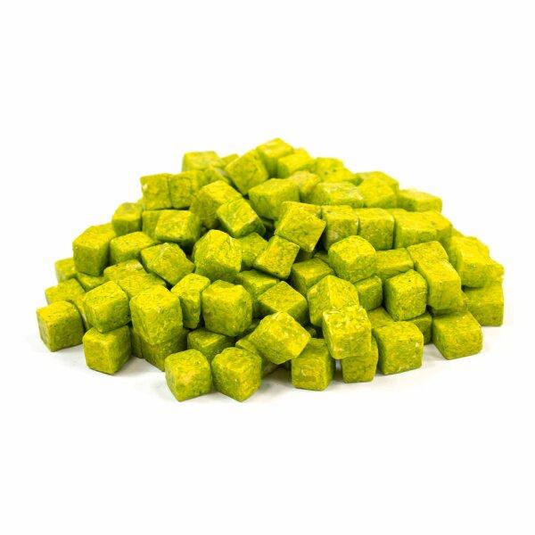 Kunststein Würfel Grün 1kg