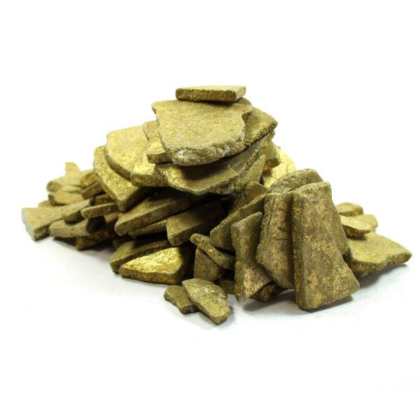 Kunststein Platten Gold 1kg