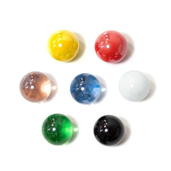 Glasmurmeln Farbmix 100g (16mm)