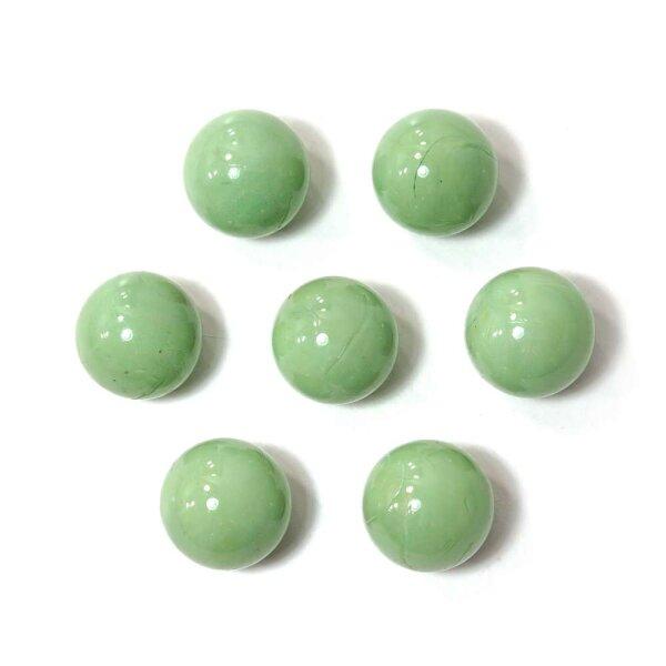 Glasmurmeln Opak Grün 100g (16mm)