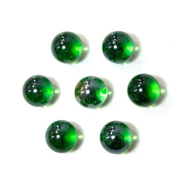 Glasmurmeln Shine Grün Irisierend 100g (16mm)